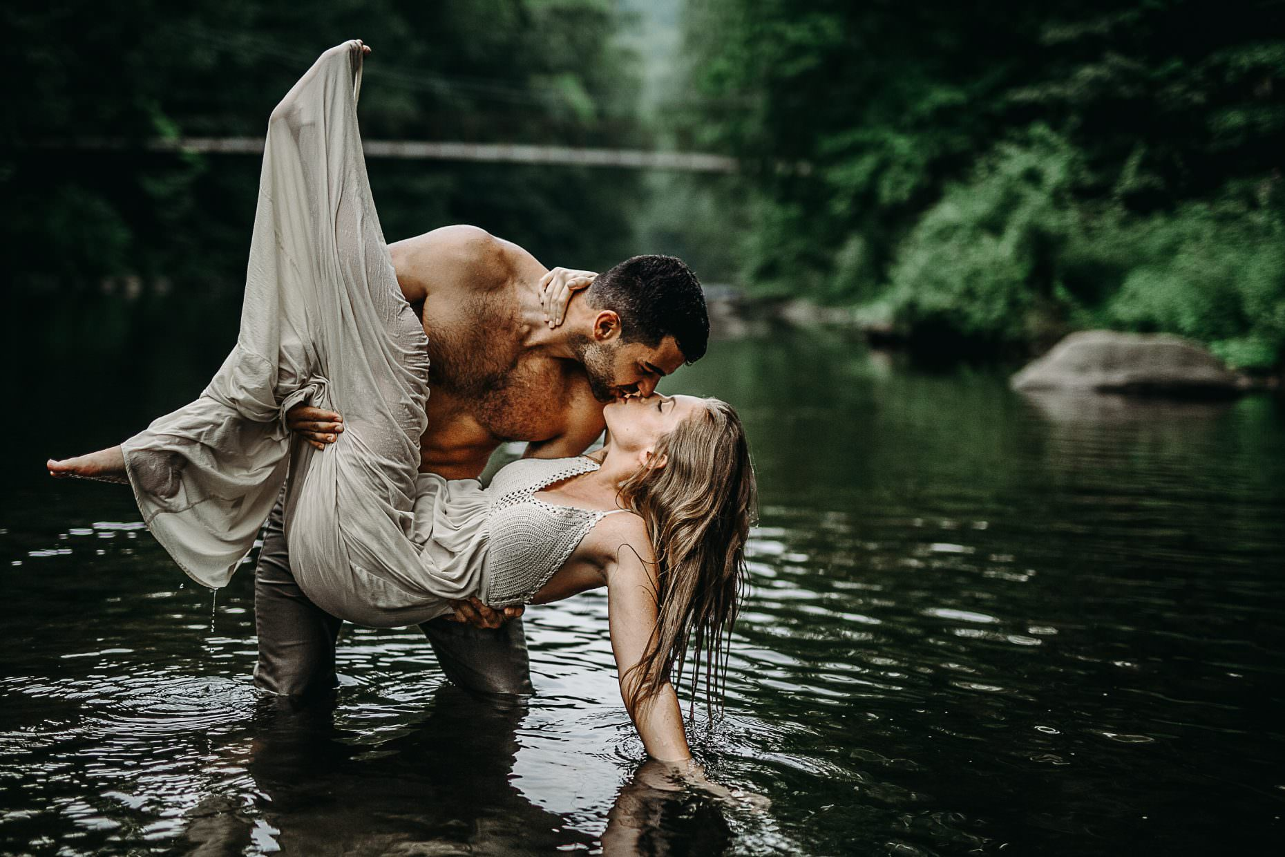 water sessions adventurous couples
