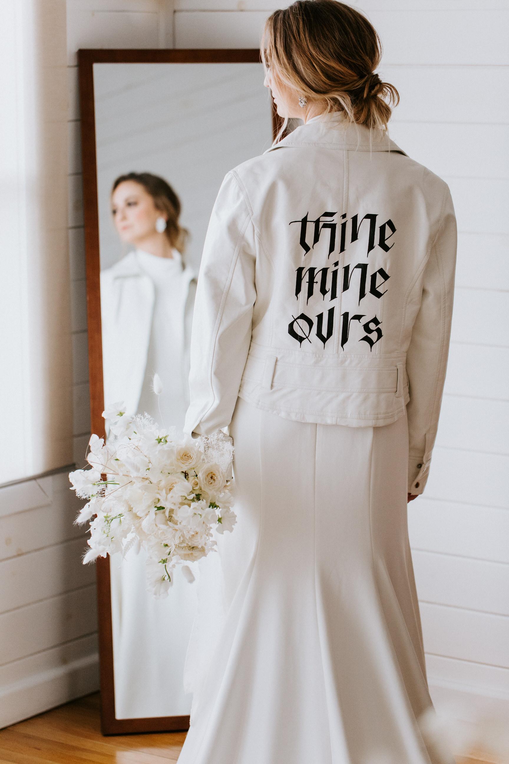 calligraphy jacket
