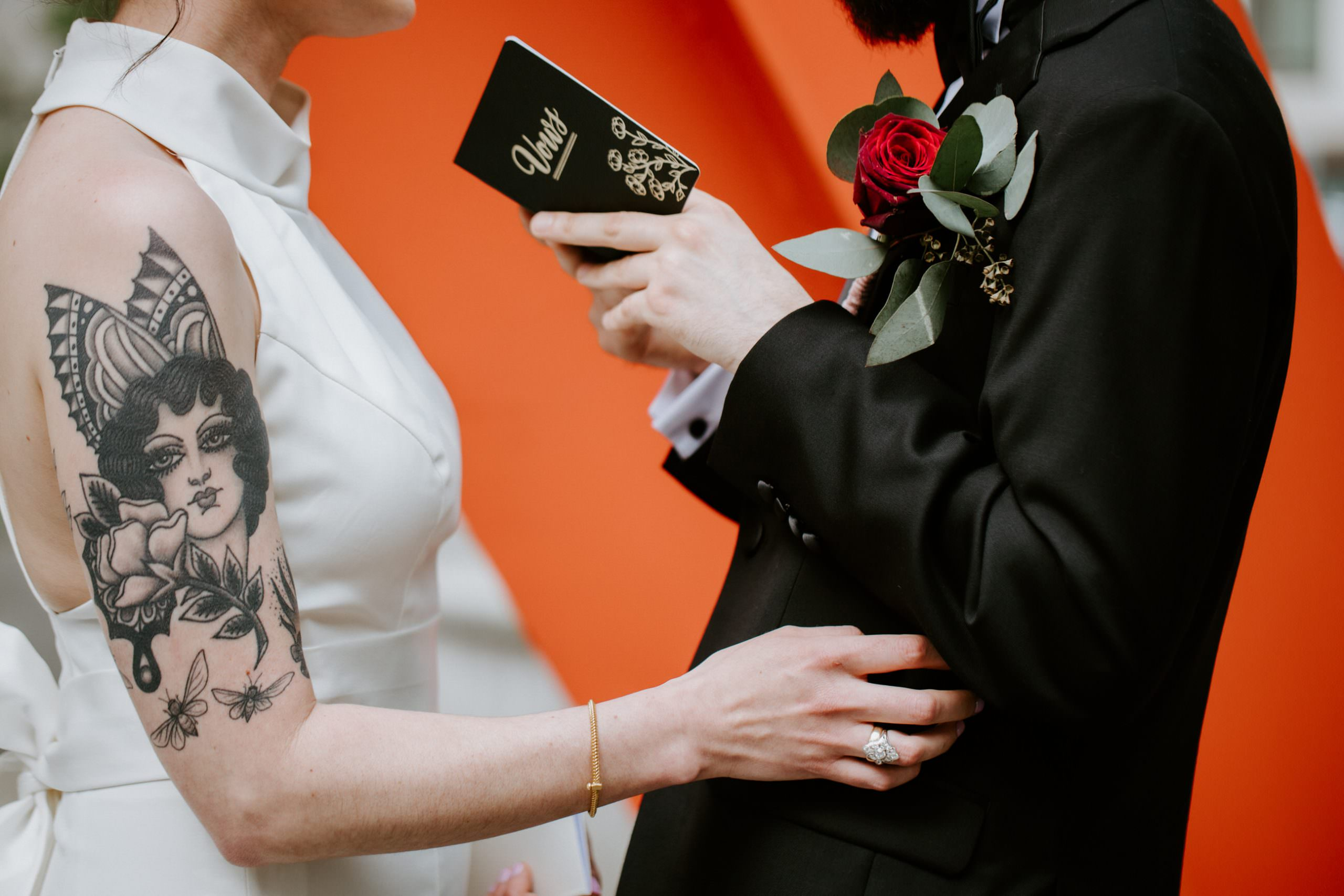 how to write vows