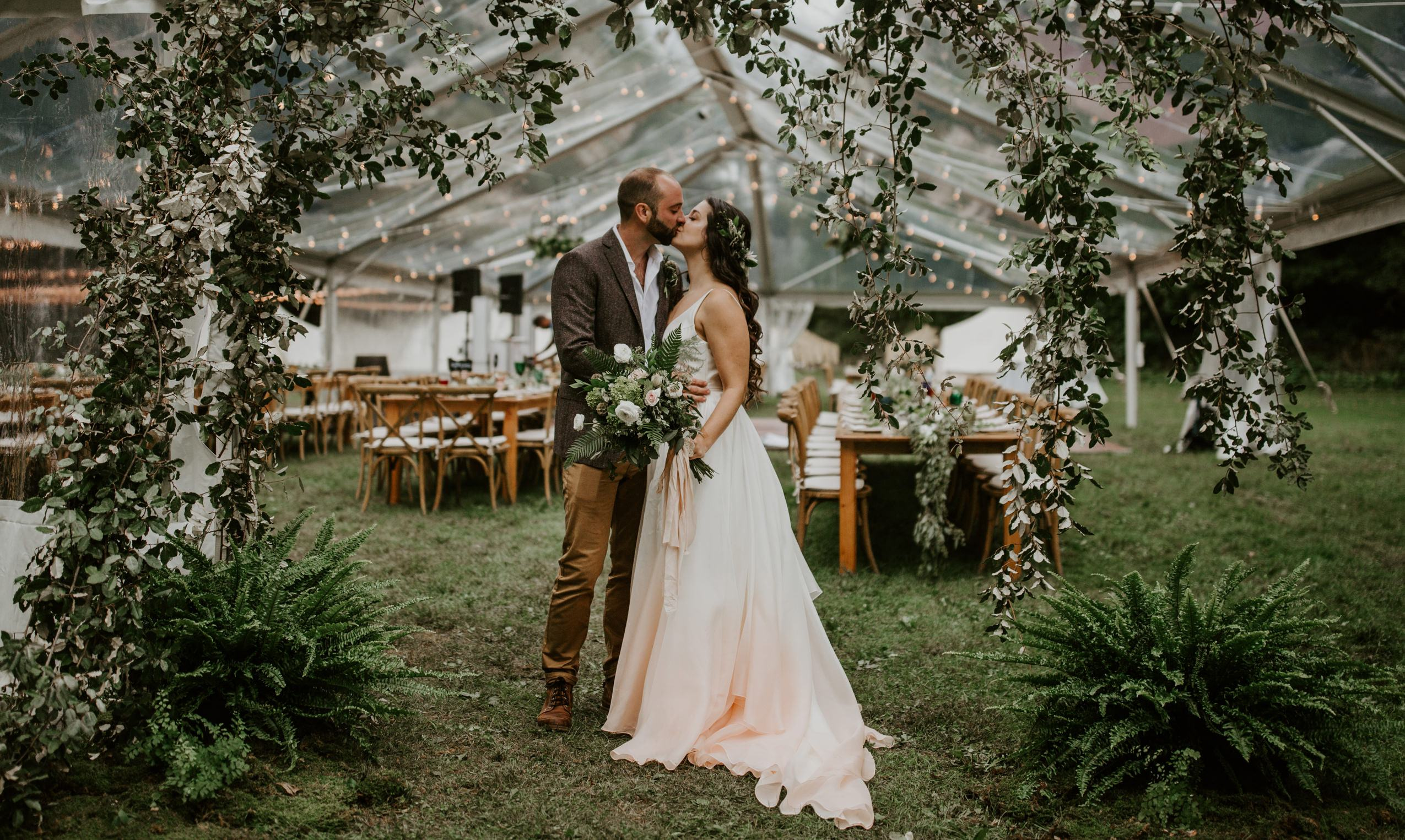 backyard-outdoor wedding